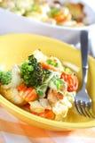 Vegetal misturado cozido imagem de stock