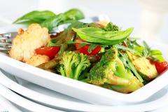 Vegetal misturado cozido foto de stock