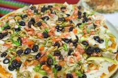 Vegetal readu пиццы, который нужно съесть Стоковое Изображение