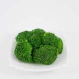 Vegetal verde fresco dos brócolis Fotografia de Stock