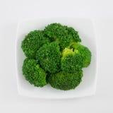 Vegetal verde fresco dos brócolis Fotografia de Stock Royalty Free