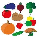 Vegetales Fotografia Stock