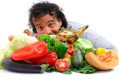 Vegetariër Royalty-vrije Stock Fotografie