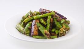 Vegetariër. Gezonde dieetvegetariër Royalty-vrije Stock Foto's