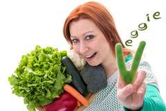 Vegetariër, veganistingrediënten Royalty-vrije Stock Foto