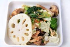 vegetarian еды смешанный Стоковое Изображение RF