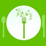 vegetarian еды Стоковая Фотография RF