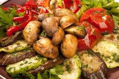 vegetarian еды Стоковые Изображения RF