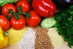 vegetarian еды Стоковая Фотография