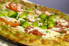 vegetarian пиццы Стоковые Изображения