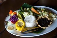 vegetarian плиты Стоковые Изображения RF