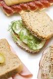 vegetarian сандвича стоковое фото