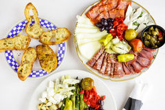 Vegetarian antipasto Stock Photography