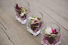 Vegetarian aperitif Royalty Free Stock Photography