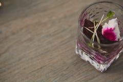 Vegetarian aperitif Royalty Free Stock Images