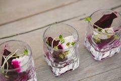 Vegetarian aperitif Stock Photo