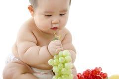 Vegetarian baby Royalty Free Stock Image