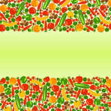 Vegetarian background with place for your text. Stock Photography