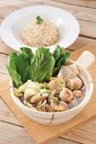 Vegetarian Bak kut royaltyfria foton