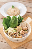 Vegetarian Bak kut teh Royalty Free Stock Photos