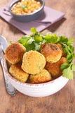 Vegetarian ball Stock Photography
