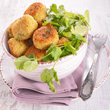 Vegetarian ball with chickpea Stock Images