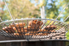 Vegetarian barbecue Stock Images