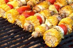 Vegetarian BBQ Stock Photo