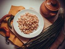 Vegetarian beans Stock Images