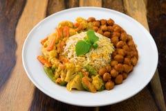 Vegetarian biryani rice Royalty Free Stock Image