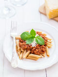 Vegetarian Bolognese sauce Royalty Free Stock Images