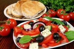 Vegetarian breakfast Stock Images