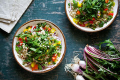 Vegetarian Bulgur Salad Royalty Free Stock Image