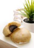 Vegetarian Bun Royalty Free Stock Image