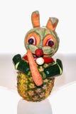Vegetarian bunny Royalty Free Stock Photography