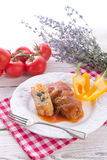Vegetarian Cabbage Rolls With Spinach