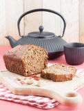 Vegetarian cake Stock Images