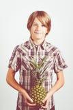 Vegetarian child Stock Photos