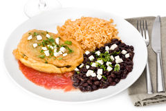 Vegetarian Chile Relleno Stock Image
