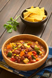 Vegetarian Chili Dish Stock Photography