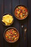 Vegetarian Chili Dish Stock Image