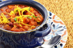 Vegetarian Chili royalty free stock image