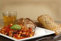 Vegetarian chilli Royalty Free Stock Image