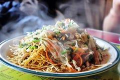 Vegetarian chowmein Stock Image