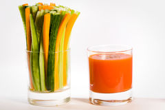 Vegetarian Cocktail Royalty Free Stock Images