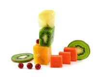 A vegetarian construction isolated Royalty Free Stock Images