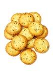 Vegetarian cookies Stock Photos