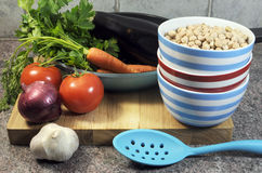Vegetarian Cooking Concept Stock Photography