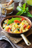 Vegetarian cous cous Stock Photos