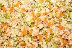 Vegetarian couscous Stock Photos